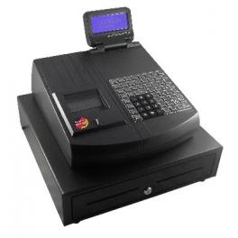Registrační pokladna QMP 2044 se zásuvkou, černá LA