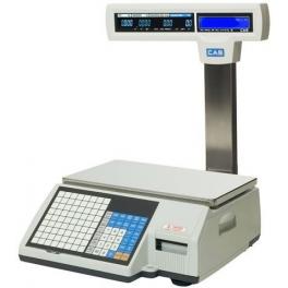 Etiketovací váha CAS CL5500 15kg s nožkou