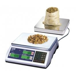 Počítácí váha CAS EC-2 3kg s možností externí plošiny