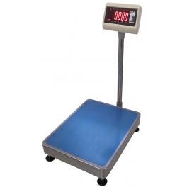 Váha můstková 1T, 460x600 mm, 150kg, lak/nerez, CAS DH