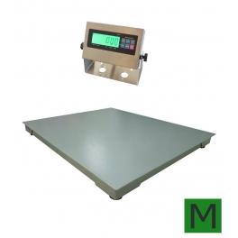 Snížená podlahová váha 4T 1000x1200mm, 600kg/A12SS