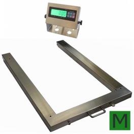 Paletová váha P4T1012L 1500kg/A12SS