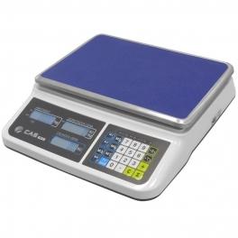 Obchodní váha CAS PR-2 s váživostí 15kg